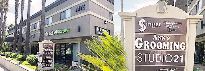 Chiropractic Brea CA office building
